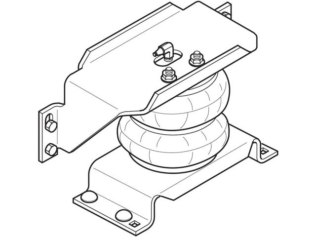 Rear Air Lift Leveling Kit For 99-17 Ford E450 Econoline
