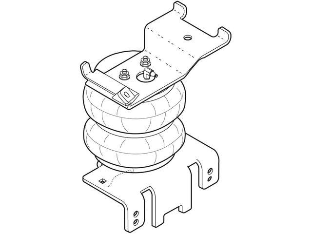 Rear Air Lift Leveling Kit For 04-15 Nissan Titan 5.6L V8