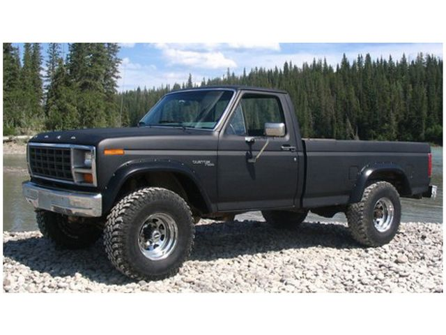 1981 Ford F150 >> Details About Rear Fender Flares For 80 86 Ford Bronco F250 F100 F150 F350 Vv57m6